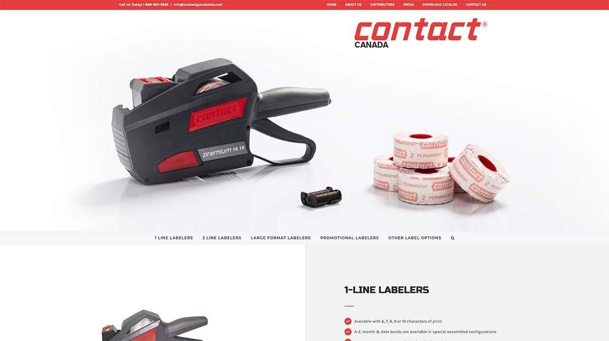 SmoothWebLife Project Contact Canada Website