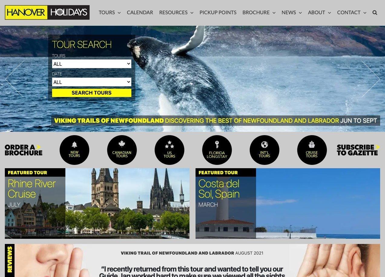 SmoothWebLife Project Hanover Holidays