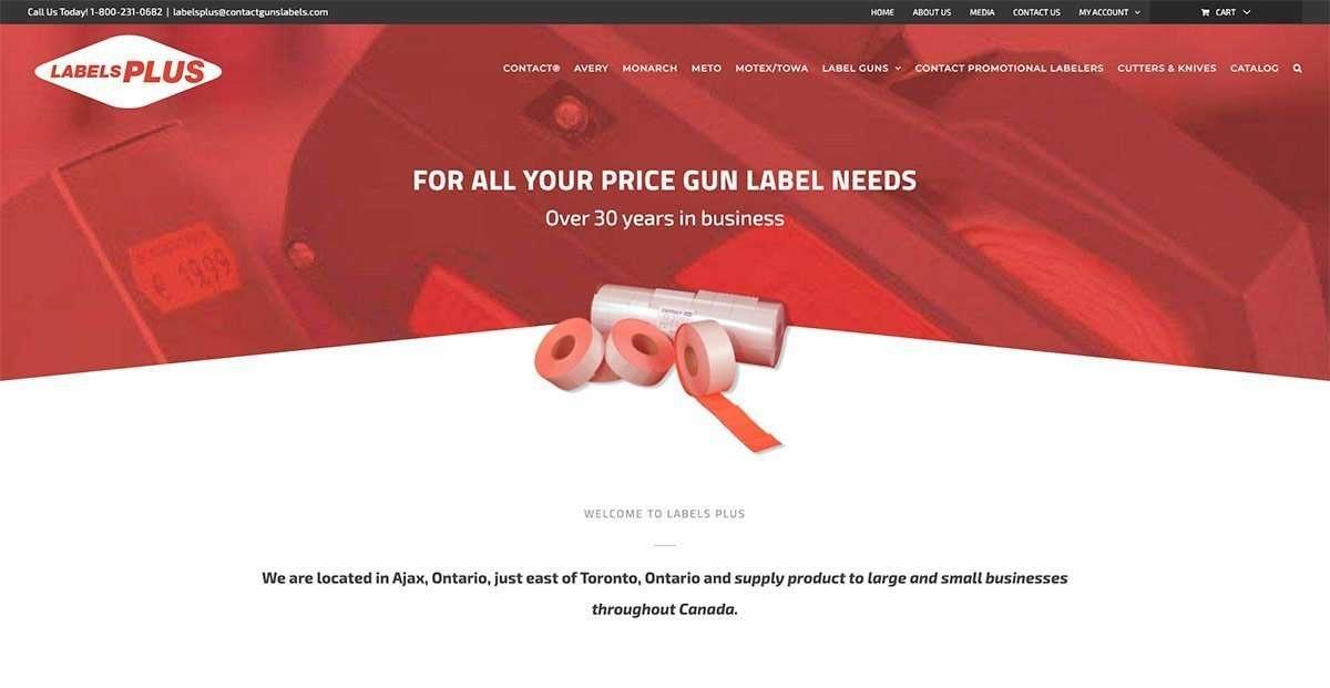 SmoothWebLife Project Labels Plus Website