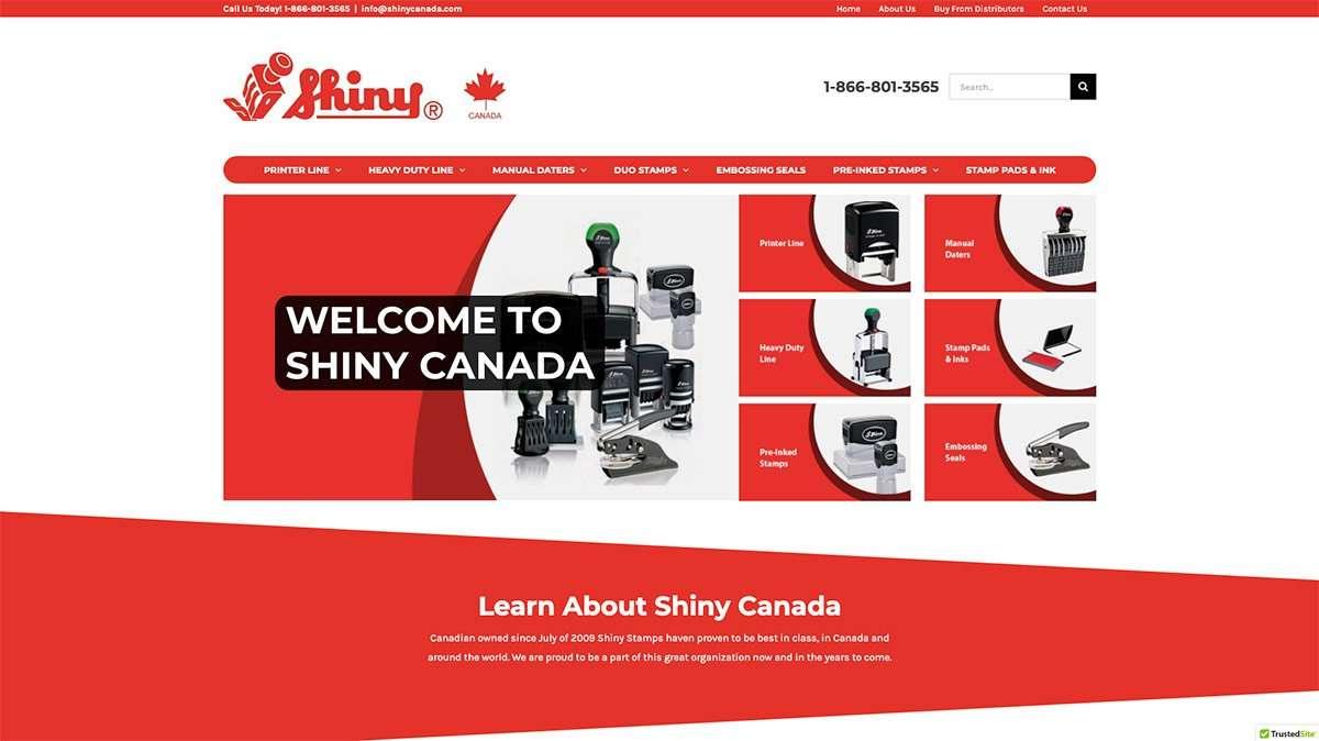 SmoothWebLife Project Shiny Canada Website